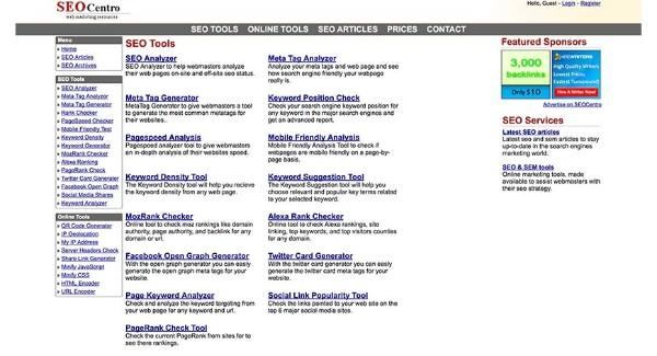 tổng hợp tool seo - kiểm tra từ khóa google