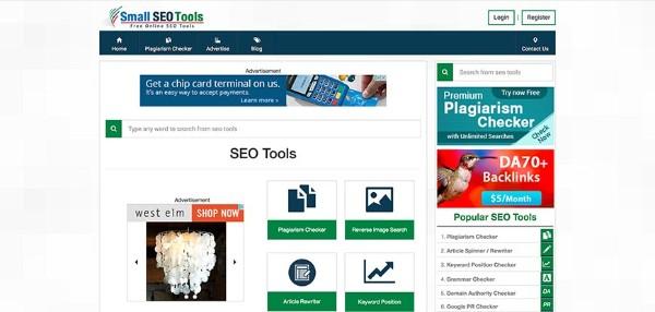 keyword rank checker small seo tool - công cụ kiểm tra thứ hạng từ khóa