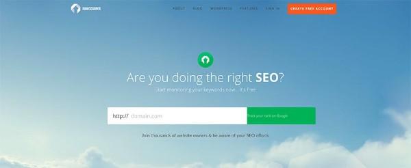 tool seo rankscanner, xem thứ hạng từ khoá